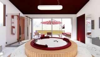 Futuristische Villas met Privé Zwembad in Antalya Turkije, Interieur Foto-14