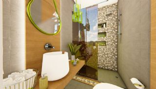 Futuristic Villas with Private Pool in Antalya Turkey, Interior Photos-17