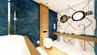 Futuristic Villas with Private Pool in Antalya Turkey, Interior Photos-18