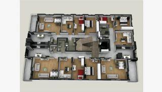 Neu Gebaute 3+1 Wohnungen im Zentrum von Antalya, Immobilienplaene-1