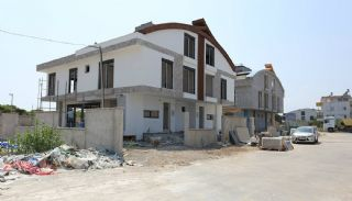 Semi-Detached Antalya Villas with Private Swimming Pool, Construction Photos-1