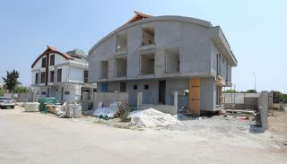 Semi-Detached Antalya Villas with Private Swimming Pool, Construction Photos-2