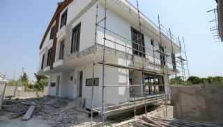 Semi-Detached Antalya Villas with Private Swimming Pool, Construction Photos-4