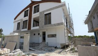 Semi-Detached Antalya Villas with Private Swimming Pool, Construction Photos-5