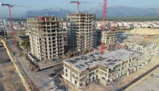 Quality Apartments in the Mega Project of Antalya Kepez, Construction Photos-1