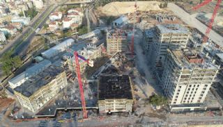 Quality Apartments in the Mega Project of Antalya Kepez, Construction Photos-3