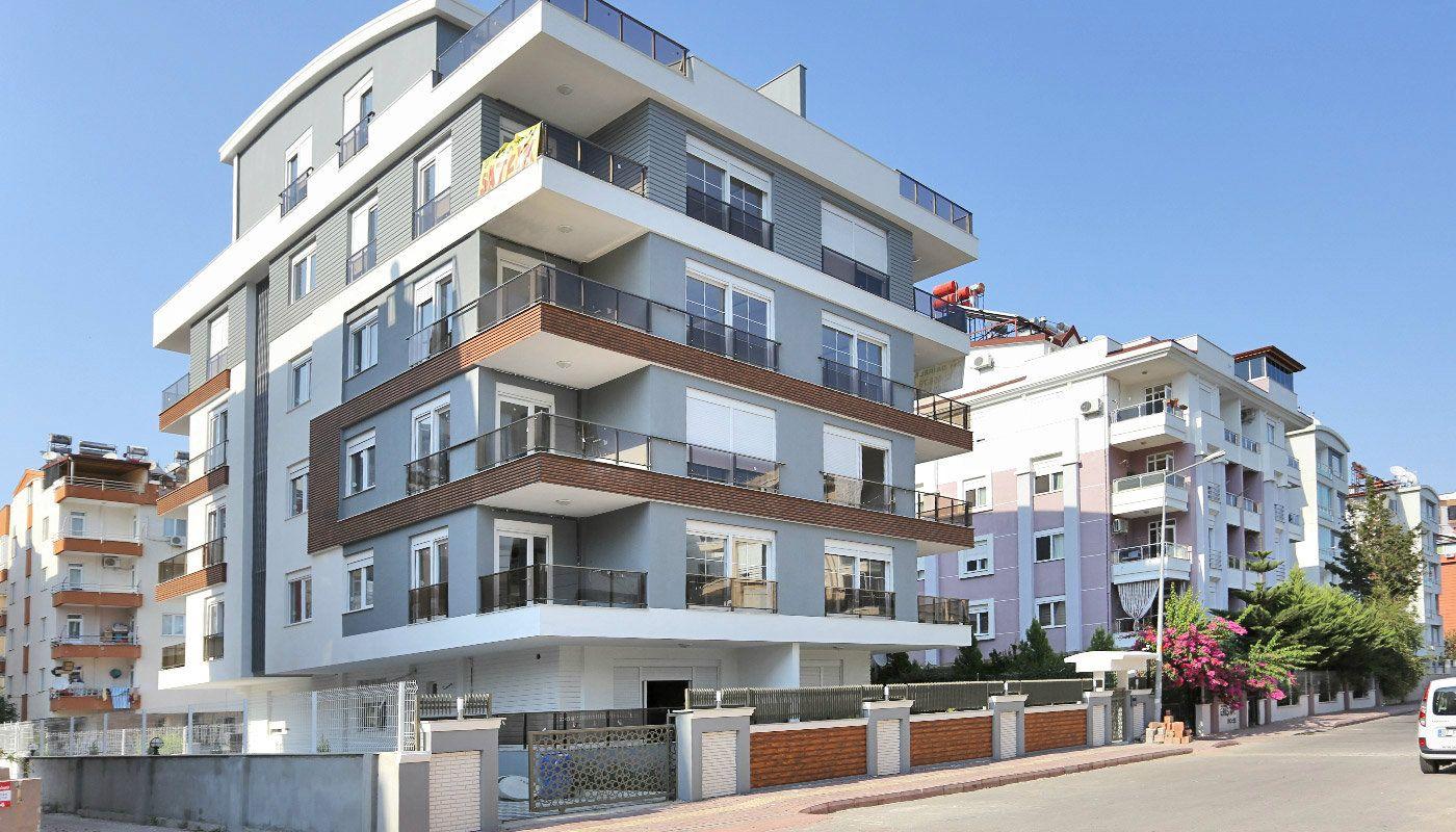 Hochwertige Wohnungen mit Küchengeräten in Antalya