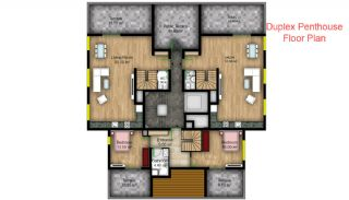 First-Class Apartments in the Modern Complex of Konyaalti, Property Plans-5