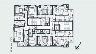 Prestigious Apartments in a Desirable Location of Antalya, Property Plans-2