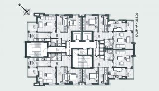 Prestigious Apartments in a Desirable Location of Antalya, Property Plans-6