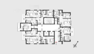 Prestigious Apartments in a Desirable Location of Antalya, Property Plans-7