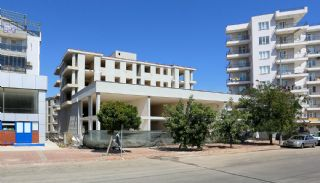 Kepez Flats in the Modern Complex with Swimming Pool, Construction Photos-2