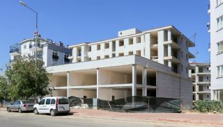 Kepez Flats in the Modern Complex with Swimming Pool, Construction Photos-3