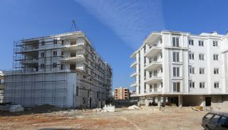 Kepez Flats in the Modern Complex with Swimming Pool, Construction Photos-7