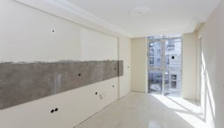 Kepez Flats in the Modern Complex with Swimming Pool, Construction Photos-13