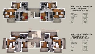New-Built Apartments with Elegant Design in Kepez, Property Plans-2