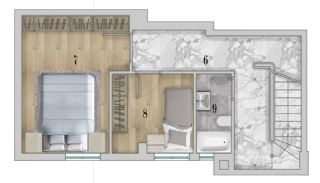 Centrally Apartments with Smart Home System in Antalya, Property Plans-2