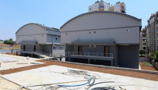 Twin Villas with Underfloor Heating System in Antalya, Construction Photos-3
