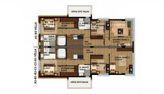 Moderne Villa's met Smart Home Systeem in Kundu, Vloer Plannen-1