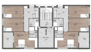 Prestigieuze Appartementen met Rijke Faciliteiten | Antalya, Vloer Plannen-2