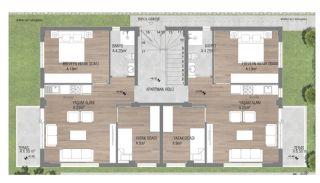 Prestigieuze Appartementen met Rijke Faciliteiten | Antalya, Vloer Plannen-3