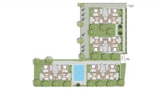 Prestigieuze Appartementen met Rijke Faciliteiten | Antalya, Vloer Plannen-4
