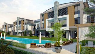 Eco-Friendly Semi Detached Villas in Antalya Konyaalti, Antalya / Konyaalti