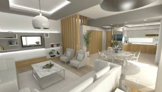 Eco-Friendly Semi Detached Villas in Antalya Konyaalti, Interior Photos-1