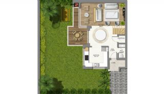 Eco-Friendly Semi Detached Villas in Antalya Konyaalti, Property Plans-1