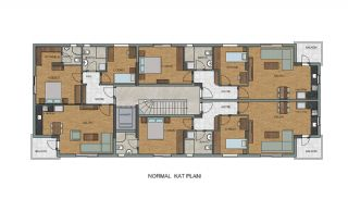 Comfortable New Built Apartments in Antalya Turkey, Property Plans-2