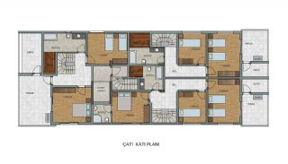 Comfortable New Built Apartments in Antalya Turkey, Property Plans-4