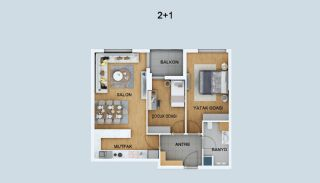High-Quality Apartments with Smart Technology in Kepez, Property Plans-3