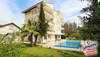 منازل واسعة مستقلة مع مسبح في أنطاليا, انطاليا / كونيالتي