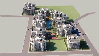 Elegant Flats 5 Minutes to the Beach in Antalya Konyaalti, Property Plans-1