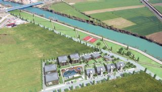 Riverfront Apartments with Private Marina in Manavgat, Property Plans-2