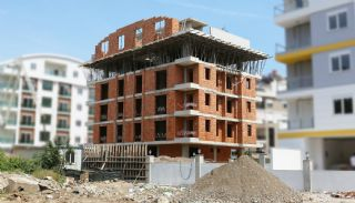 New-Built Modern Apartments in Antalya Konyaalti, Construction Photos-1