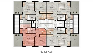 New-Built Modern Apartments in Antalya Konyaalti, Property Plans-3