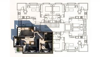 New-Built Modern Apartments in Antalya Konyaalti, Property Plans-5