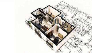 New-Built Modern Apartments in Antalya Konyaalti, Property Plans-6