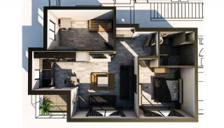 New-Built Modern Apartments in Antalya Konyaalti, Property Plans-7