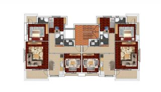 New Built Apartments in Antalya at Affordable Prices, Property Plans-1