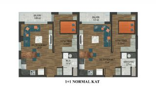 Elegant Apartments at Popular Location in Konyaalti Antalya, Property Plans-1