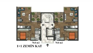 Elegant Apartments at Popular Location in Konyaalti Antalya, Property Plans-2