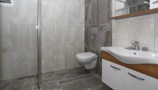Double Fronted Flats with Natural Gas in Antalya Center, Interior Photos-15