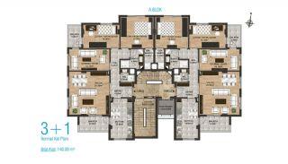 Nouveaux Appartements Avec Cuisine Séparée à Kepez Antalya, Projet Immobiliers-3