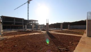 New Apartments in Kepez Antalya Near the Beltway, Construction Photos-5