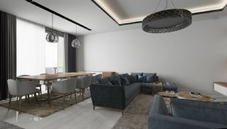 Nya lägenheter i Kepez Antalya Nära Beltway, Interiör bilder-5