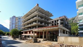 Well-Located Modern Apartments in Antalya Konyaalti, Construction Photos-1