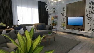 Well-Located Modern Apartments in Antalya Konyaalti, Interior Photos-1