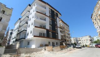 New Built Apartments Close to the Sea in Antalya Center, Construction Photos-1